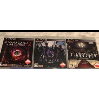 プレイステーション3(PlayStation3)のバイオハザード 6 PS3 セット(家庭用ゲームソフト)