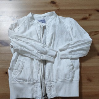 コーエン(coen)のcoen ホワイトジャケット(ノーカラージャケット)