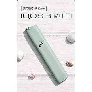 IQOS - アイコスマルチ 限定色 ミント IQOS 本体 新品 送料無料