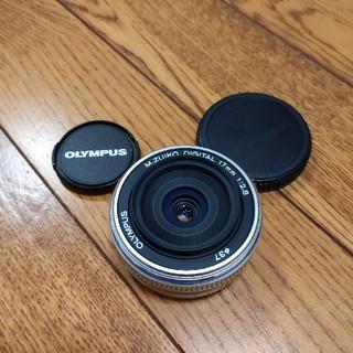 オリンパス(OLYMPUS)のオリンパス  17mmf2.8 美品中古(レンズ(単焦点))