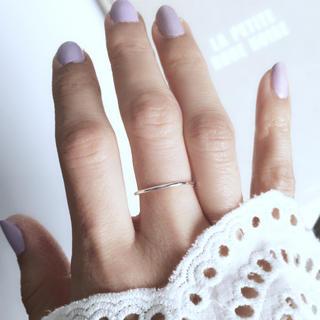 トゥデイフル(TODAYFUL)の再販【silver925】華奢なシンプルリング シルバー925(リング(指輪))