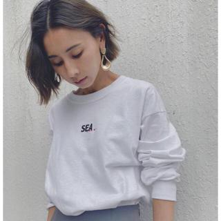 アメリヴィンテージ(Ameri VINTAGE)のameri vintage ×wind and seaコラボTシャツ(Tシャツ(長袖/七分))
