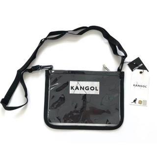 カンゴール(KANGOL)のカンゴール KANGOL ミニショルダー ポーチ クリアバッグ(ショルダーバッグ)