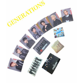 ジェネレーションズ(GENERATIONS)のGENERATIONS カード・ステッカーセット(その他)