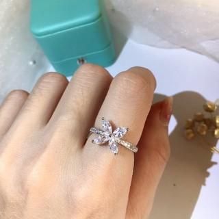 ティファニー(Tiffany & Co.)のお勧め TIFFANY 新品 花 リング 7号 (リング(指輪))