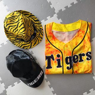 ハンシンタイガース(阪神タイガース)の阪神タイガースグッズ 3点セット(応援グッズ)