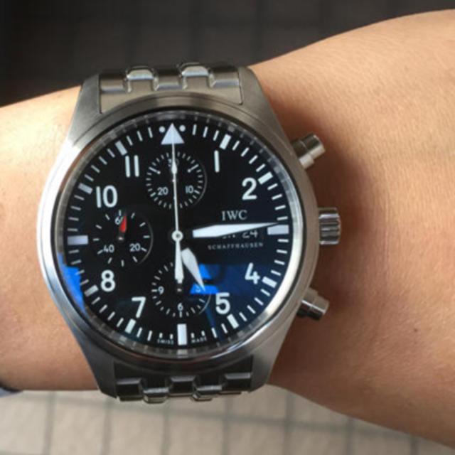IWC - IWC パイロット IW371704【美品】の通販