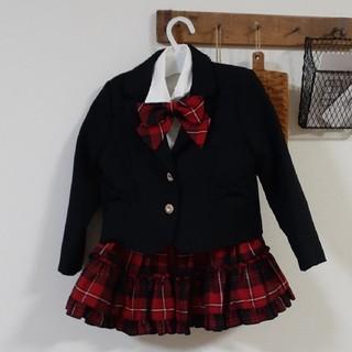 ニシマツヤ(西松屋)のフォーマルスーツ女の子110(ドレス/フォーマル)