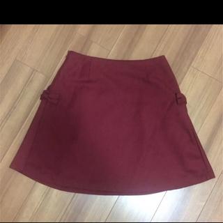 クチュールブローチ(Couture Brooch)のクチュールブローチ リボンスカート(ひざ丈スカート)