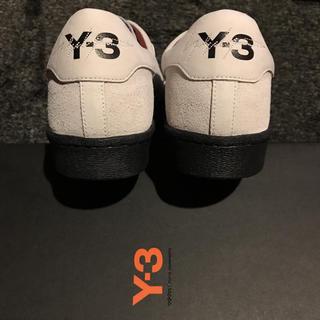 ワイスリー(Y-3)の【新品】Y-3 ライトグレー/ブラック UK10(スニーカー)