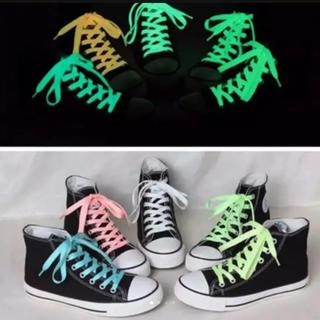 光る靴紐 三色セット(その他)