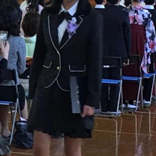 シマムラ(しまむら)のサイズ165♡女児卒業式スーツ♡1回のみ着用(ドレス/フォーマル)