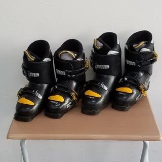 スキーブーツ子供2点セット(ブーツ)