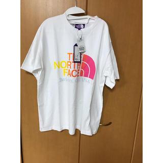 ザノースフェイス(THE NORTH FACE)のザ ノースフェイス パープルレーベル ロゴTシャツ(Tシャツ/カットソー(半袖/袖なし))