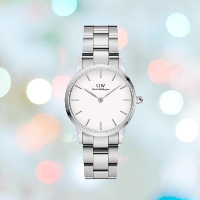 ポレオット 時計 / Daniel Wellington - 安心保証付!最新作【32㎜】ダニエル ウェリントン腕時計 Iconic Linkの通販