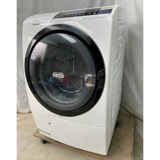 パナソニック(Panasonic)の日立 ななめ型ドラム式洗濯乾燥機10kg ナイアガラ自動お掃除 BD-S8700(洗濯機)