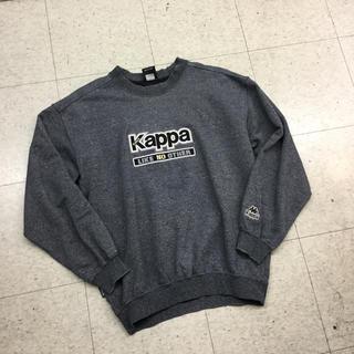 カッパ(Kappa)のKAPPA カッパ スウェット グレー ロゴ スポーツ 90s(スウェット)