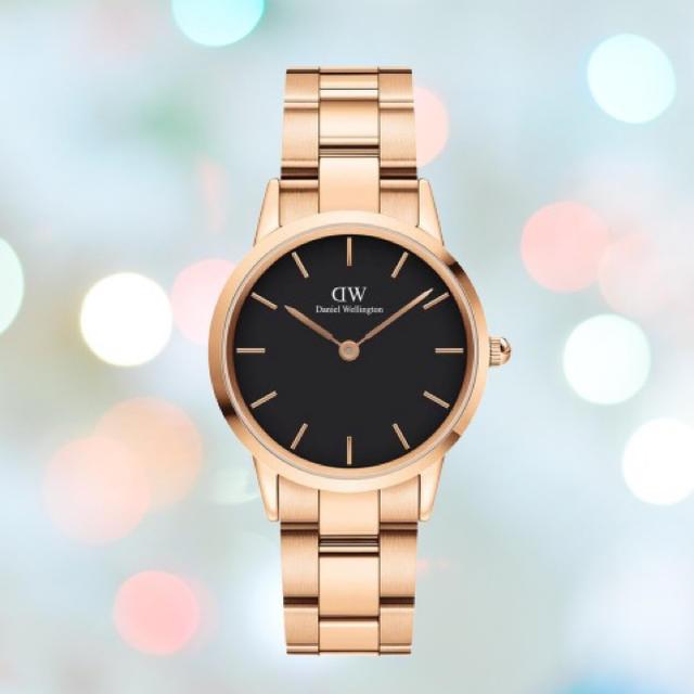 ブランパン偽物 時計 最安値で販売 | Daniel Wellington - 安心保証付!最新作【32㎜】ダニエル ウェリントン腕時計 Iconic Linkの通販