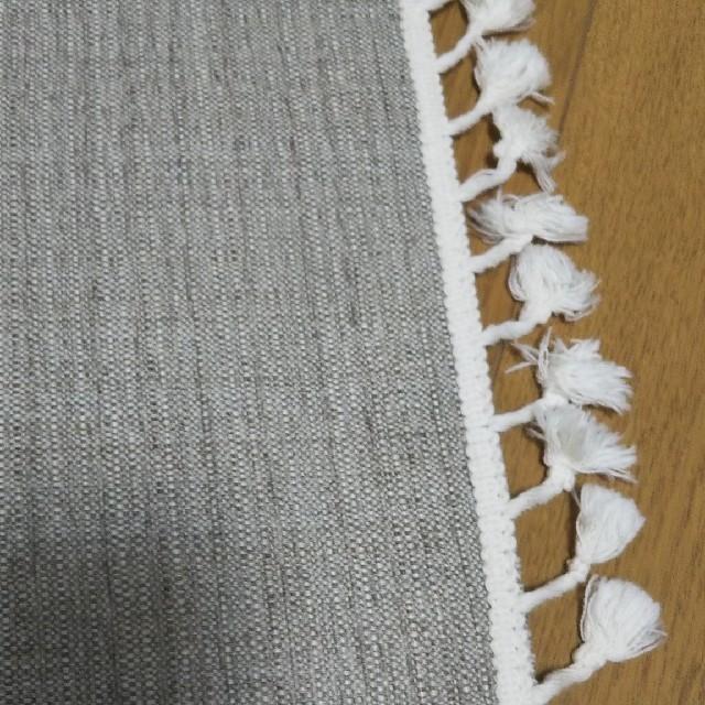 しまむら(シマムラ)のプチプラのあや インテリアマット フロアマット 玄関マット インテリア/住まい/日用品のラグ/カーペット/マット(玄関マット)の商品写真