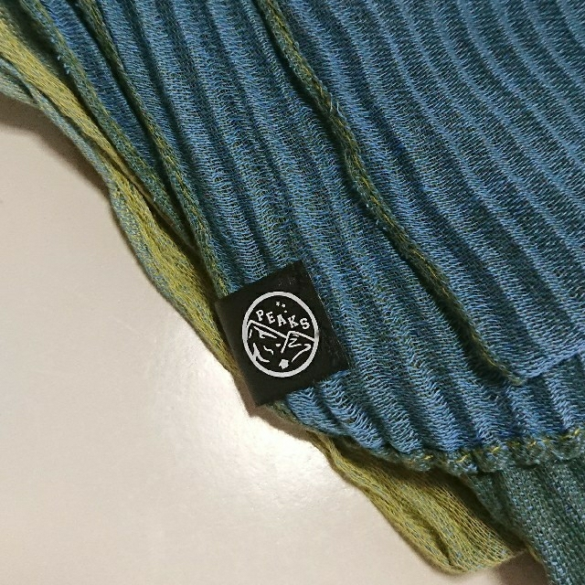 新品未使用/寒色系ストール メンズのファッション小物(ストール)の商品写真