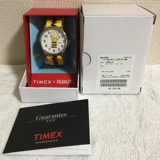 タイメックス(TIMEX)の【新品未使用】TIMEX×PEANUTS WEEKENDER EXCLUSIVE(腕時計(アナログ))