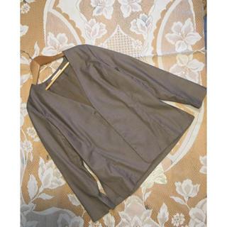 ガリャルダガランテ(GALLARDA GALANTE)のガリャルダガランテ ノーカラージャケット 美品(ノーカラージャケット)