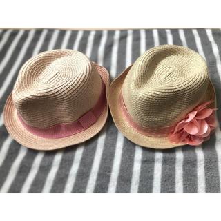 ジーユー(GU)の女の子用 麦わら帽子 ハット(帽子)