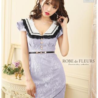 ローブ(ROBE)のローブドフルール ミニドレス M(ナイトドレス)