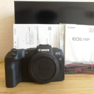 Canon - 美品 EOS RP ボディ 保証残あり ショット数少