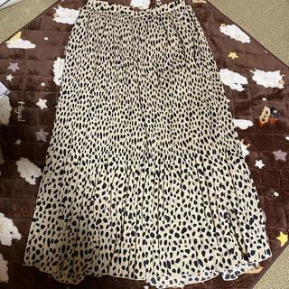 ドレスキップ(DRESKIP)のレオパード柄 スカート(ロングスカート)