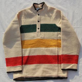 ウールリッチ(WOOLRICH)のWoolrich mulch border pullover jacket(カバーオール)