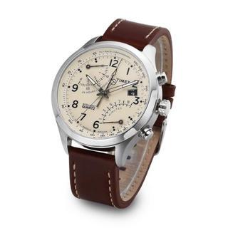 タイメックス(TIMEX)のTIMEX タイメックス ワールドタイム インテリジェント クロノグラフ 腕時計(腕時計(アナログ))