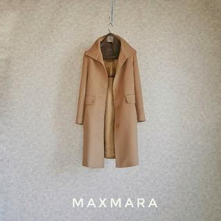 Max Mara - 超高級 美品 マックスマーラ 豪華艶生地 一級品コート STUDIO 送料無料