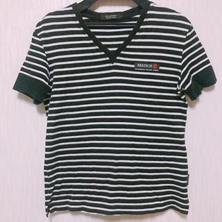 バーバリーブラックレーベル(BURBERRY BLACK LABEL)のBurberry black label  VネックTシャツ(Tシャツ(半袖/袖なし))