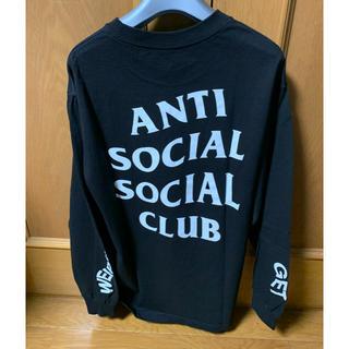 アンチ(ANTI)の黒 M antisocialsocialclub ロンT (Tシャツ/カットソー(半袖/袖なし))
