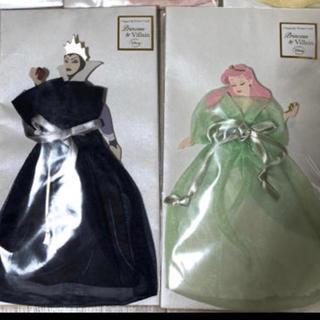 ディズニー(Disney)のディズニープリンセス  ハニカムカード2枚(ウェルカムボード)
