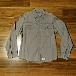 ほぼ未使用 cut-rait カットレイト ツイル シャツ 厚手生地 Mサイズ(シャツ)