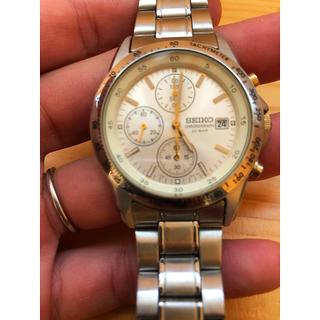 セイコー(SEIKO)のセイコー SEIKO クロノグラフ 腕時計(腕時計(アナログ))