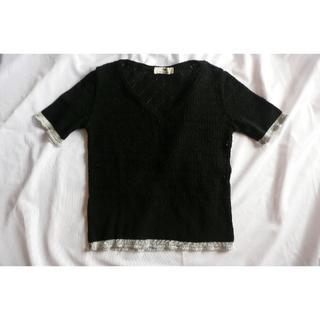 ビバユー(VIVAYOU)のVIVAYOU ビバユー レース編みトップス(カットソー(半袖/袖なし))