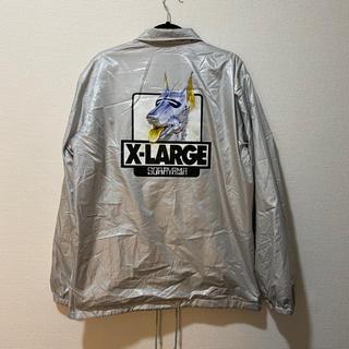 エクストララージ(XLARGE)のXLARGE×HAJIME SORAYAMAコラボコーチジャケット(ナイロンジャケット)