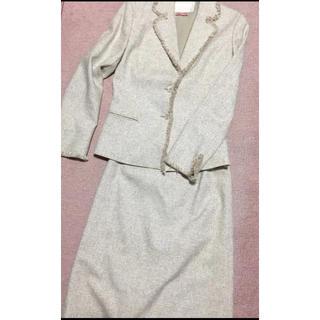 ナチュラルビューティー(NATURAL BEAUTY)のナチュラルビューティー スカートスーツ ツイード* NATURAL BEAUTY(スーツ)