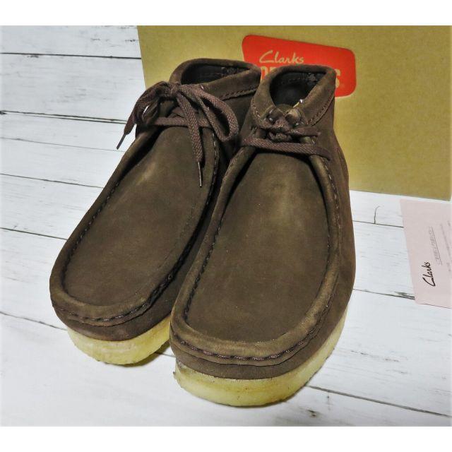 Clarks(クラークス)の新品 Clarks Wallabee Boot UK7 US8 ブラウン  メンズの靴/シューズ(スリッポン/モカシン)の商品写真