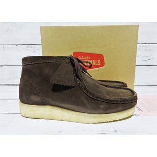 Clarks - 新品 Clarks Wallabee Boot UK7 US8 ブラウン