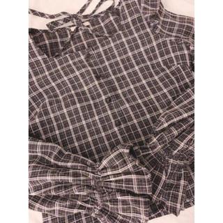 イートミー(EATME)のEATME イートミー チュールコンビシャツ(Tシャツ(半袖/袖なし))
