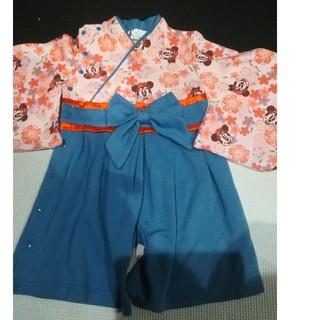 ディズニー(Disney)のミニーちゃん 袴(和服/着物)