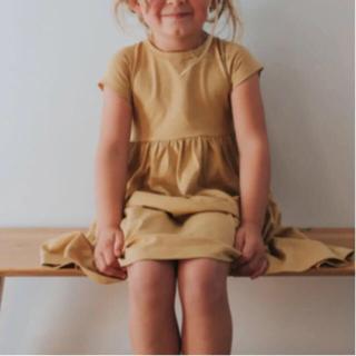 コドモビームス(こどもビームス)の新品未使用 バックアンドバー ワンピース ドレス ハニー 4y 110(ワンピース)
