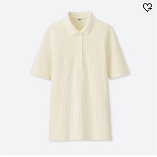 UNIQLO - リブポロシャツ