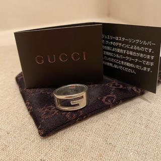 グッチ(Gucci)の【GUCCI♡シルバーリング】正規品(リング(指輪))