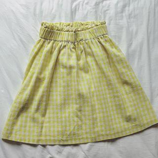 テチチ(Techichi)の汗抜きクリーニング済み❤︎ギンガムチェックスカート(ひざ丈スカート)
