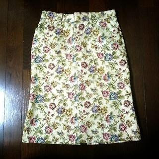 バツ(BA-TSU)のBa-tsu バツ のジャガード織タイトスカート M(ひざ丈スカート)